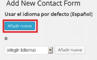 Contact Form 7 Idioma