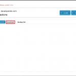 XCloner, listado backups realizado